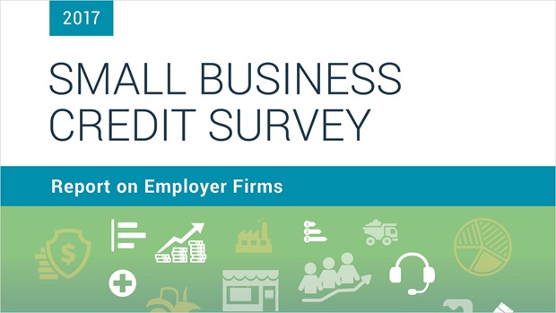 Cover of the Report on Employer Firms based on the 2017 Small Business Credit Survey