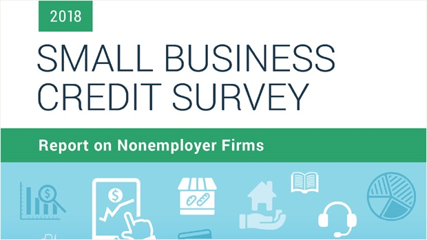 Cover of Report on Nonemployer Firms from 2017 Small Business Credit Survey