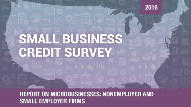Cover of the Report on Microbusinesses based on the 2016 Small Business Credit Survey
