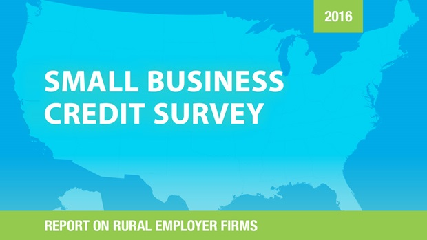 Cover of the Report on Rural Employer Firms based on the 2016 Small Business Credit Survey