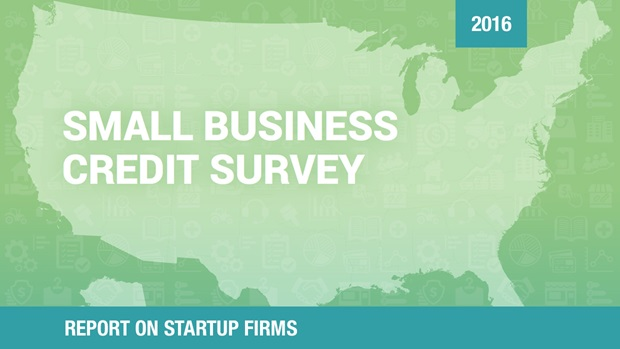 Cover of the Report on Startup Firms based on the 2016 Small Business Credit Survey