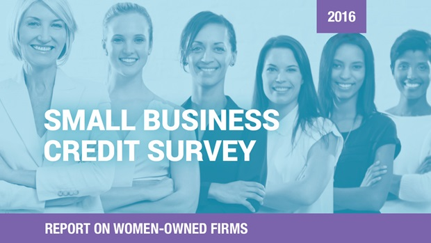 Cover of the Report on Women-Owned Firms based on the 2016 Small Business Credit Survey